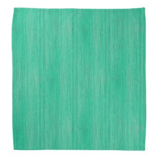 海緑のタケ木製の穀物の一見 バンダナ