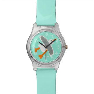 海緑の芸術の腕時計: ジョンのダイアーのコーニッシュのカモメ 腕時計