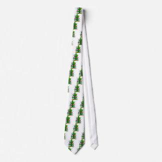 海藻のフグ家族 オリジナルネクタイ