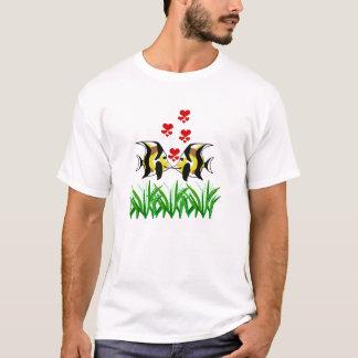 海藻ワイシャツに接吻しているMoorishの偶像の魚 Tシャツ