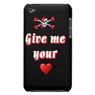 海賊およびハート Case-Mate iPod TOUCH ケース