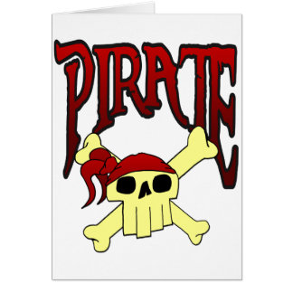 海賊どくろ印の漫画 カード