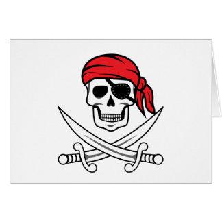 海賊どくろ印 カード