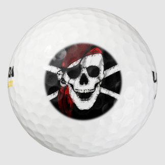海賊どくろ印 ゴルフボール
