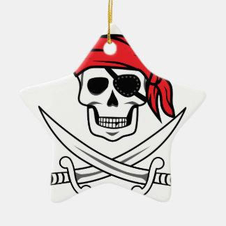 海賊どくろ印 セラミックオーナメント