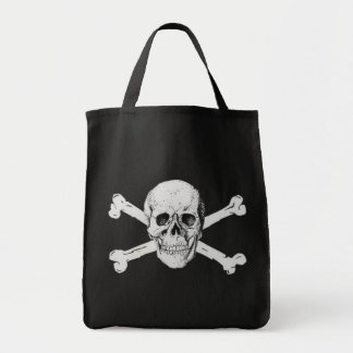 海賊どくろ印 トートバッグ