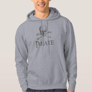 海賊どくろ印 パーカ