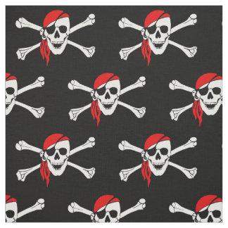 海賊どくろ印 ファブリック