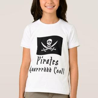 海賊はクールです! Tシャツ