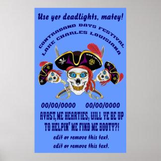 海賊は私を利得見つけます! デザインについての重要な読書 ポスター