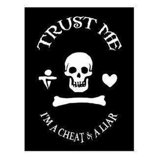 海賊を信頼して下さい ポストカード