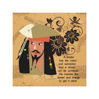 海賊インスピレーション キャンバスプリント