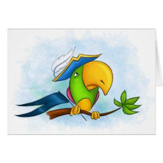 海賊オウム カード