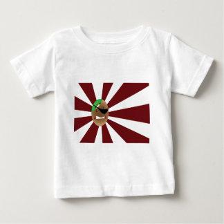 海賊キーウィ ベビーTシャツ