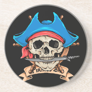 海賊スカルの鋭いナイフ コースター