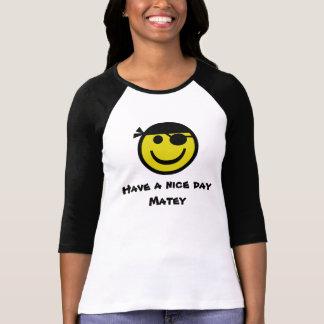 海賊スマイリー Tシャツ