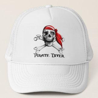 海賊ダイバーの帽子 キャップ