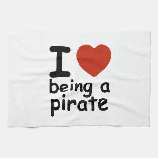 海賊デザイン キッチンタオル