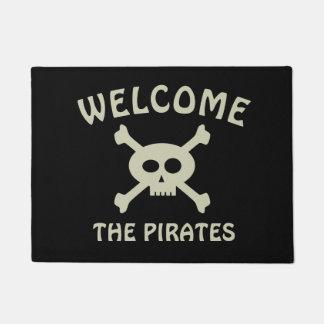 海賊ドア・マットを歓迎して下さい ドアマット