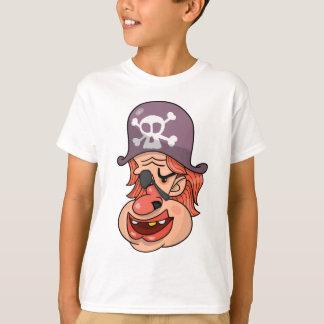 海賊ヘッド漫画 Tシャツ