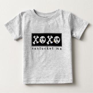 海賊ベビーXOXO Nantucket MA ベビーTシャツ