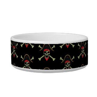 海賊ペット皿 ボウル