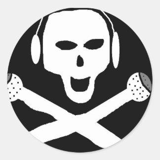 海賊ラジオ ラウンドシール