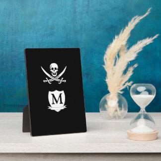 海賊及びモノグラム フォトプラーク