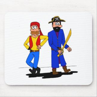 海賊友人のマウスパッド マウスパッド