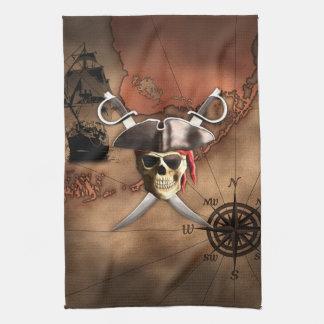 海賊地図 キッチンタオル