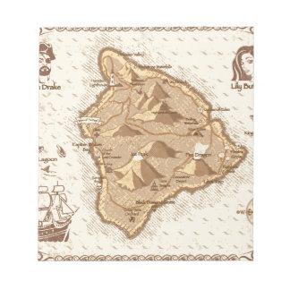 海賊地図 ノートパッド