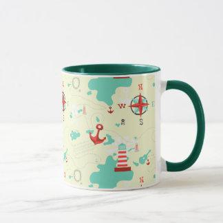海賊地図 マグカップ