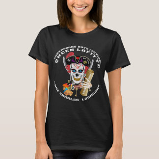 海賊女王1 1および2前部および背部 Tシャツ