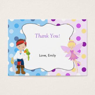 海賊妖精はラベルのラベル感謝していしています 名刺