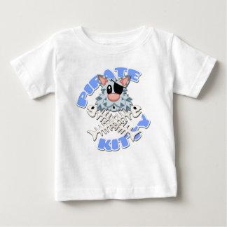 海賊子猫のベビーのティー ベビーTシャツ