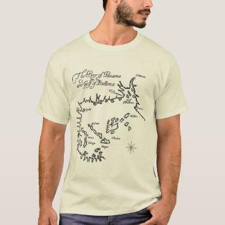 海賊宝物地図(味方される2) Tシャツ