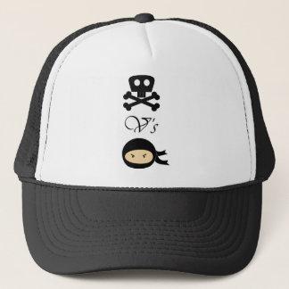 海賊対忍者 キャップ