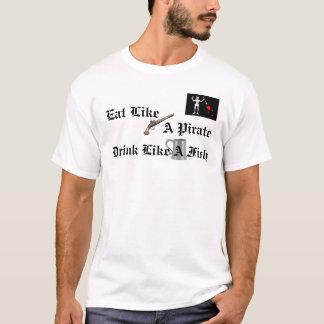 海賊方法 Tシャツ