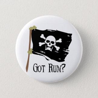 海賊旗によって得られるラム酒 5.7CM 丸型バッジ