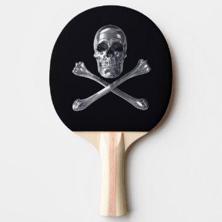 海賊旗のスカルの卓球ラケット 卓球ラケット