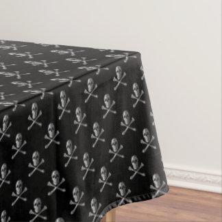 海賊旗のスカルパターンテーブルクロス テーブルクロス