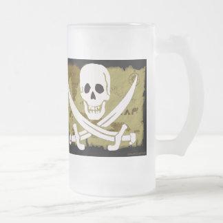 海賊旗の地図#10 フロストグラスビールジョッキ