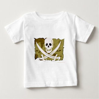 海賊旗の地図#10 ベビーTシャツ