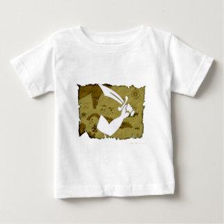海賊旗の地図#12 ベビーTシャツ