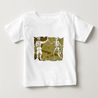 海賊旗の地図#8 ベビーTシャツ