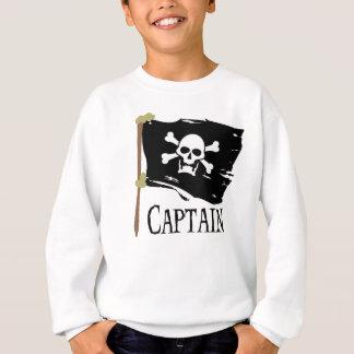海賊旗の大尉 スウェットシャツ