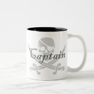海賊旗の大尉 ツートーンマグカップ