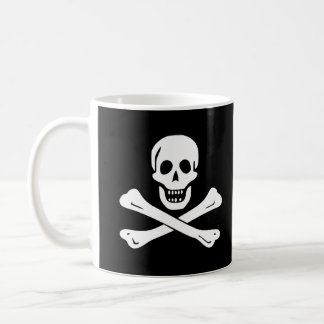 海賊旗の海賊旗のマグ コーヒーマグカップ