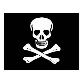 海賊旗の海賊旗 ポストカード