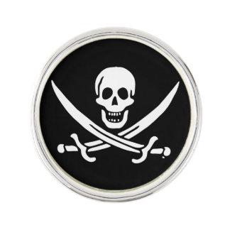 海賊旗の海賊旗 ラペルピン